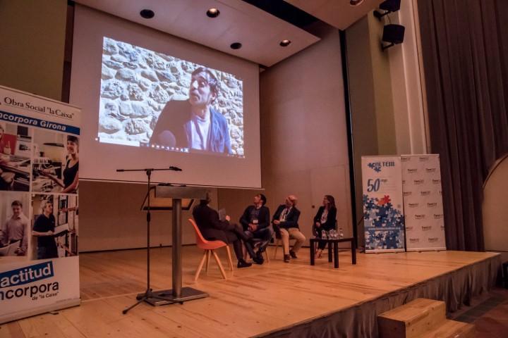 La fundació privada Altem i la fundació  Femcat reuneixen empresaris i institucions en una jornada sobre la inserció laboral de persones amb discapacitat