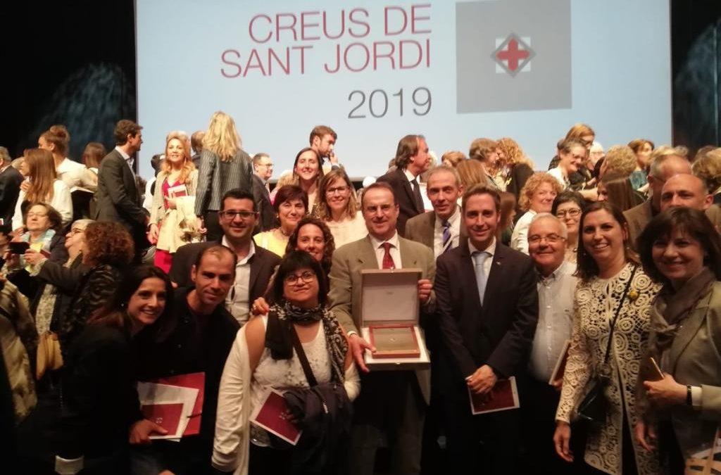 La nostra Fundació ha estat guardonada amb la Creu de Sant Jordi